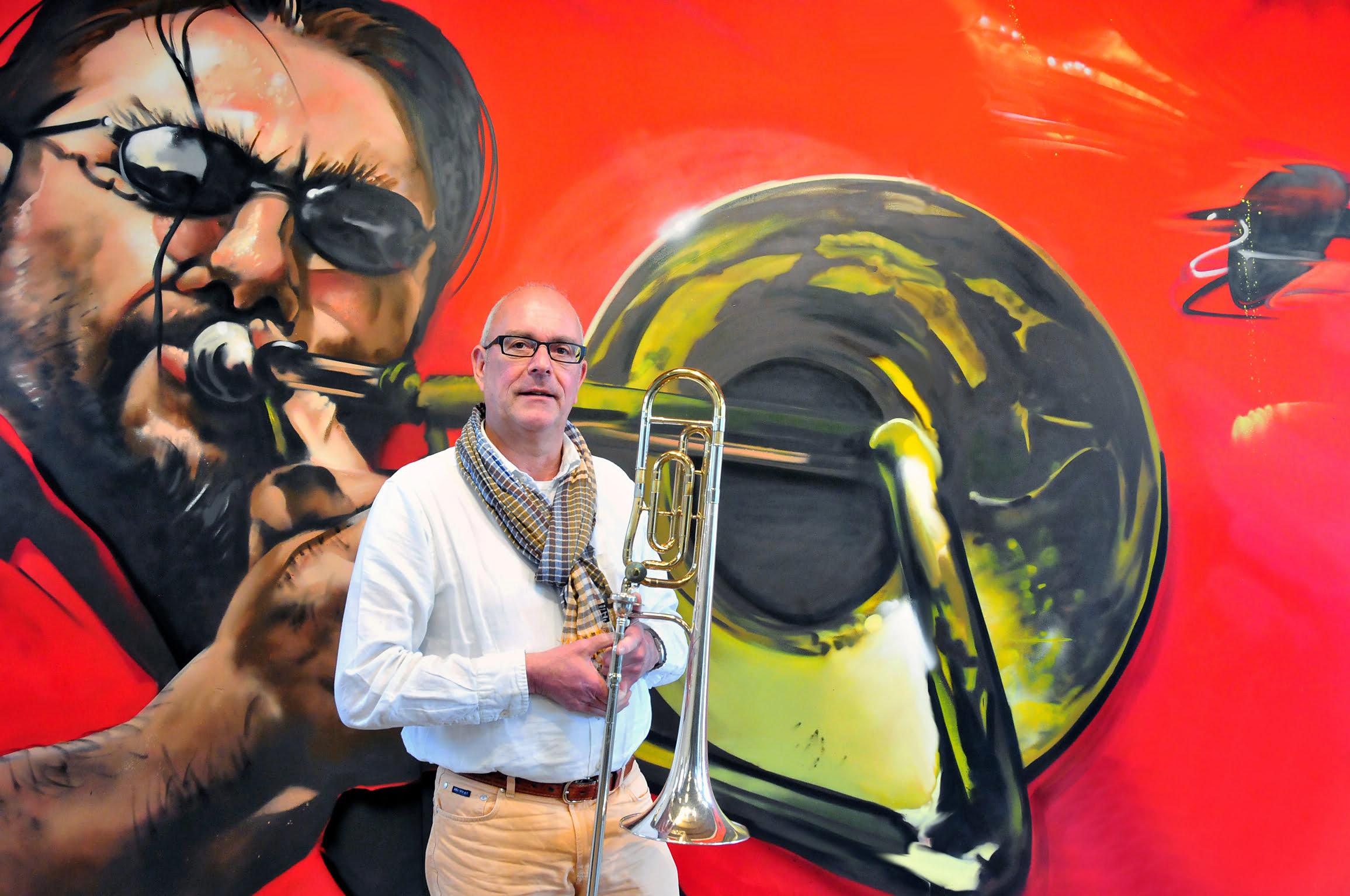 """""""Een trombone is een echte verbinder"""""""
