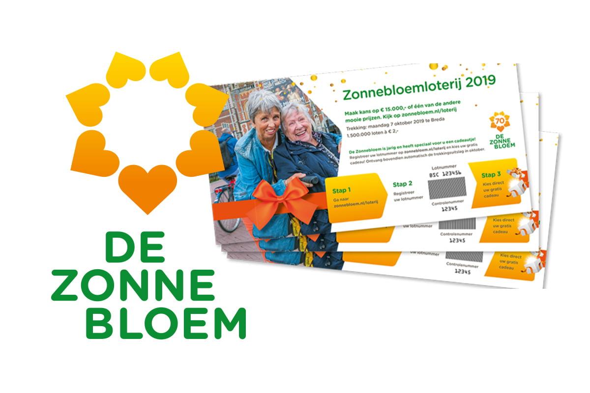 De Zonnebloem is goede doel in 2019