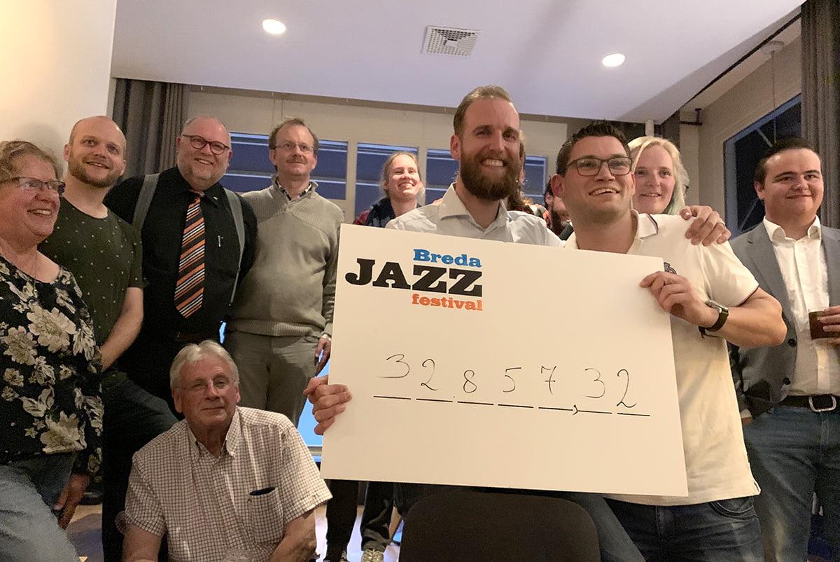 Recordopbrengst verrast Breda Jazz Festival
